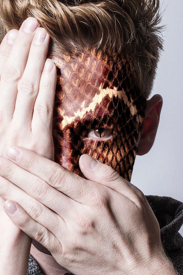 Лица дикой природы в фотографиях Девина Митчелла
