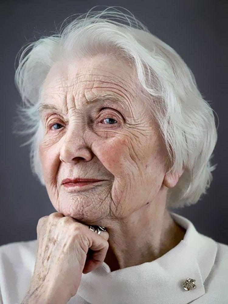 Потрясающие портреты тех, кому за 100